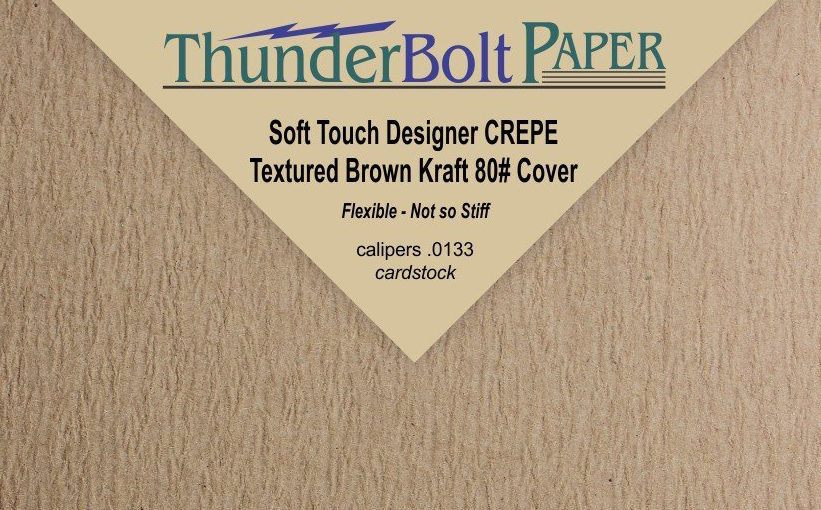 Ivex Industrial Crepe Paper Repurposed for ThunderBolt's Crafty Online Customers